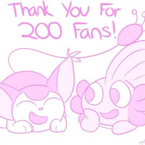 Thank You For 200 Fans On Smackjeeves!