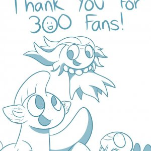 Thanks For 300 Fans on Smackjeeves!